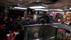 USS Santa Fe Crew Mess 2