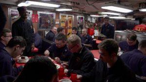 USS Santa Fe Crew mess