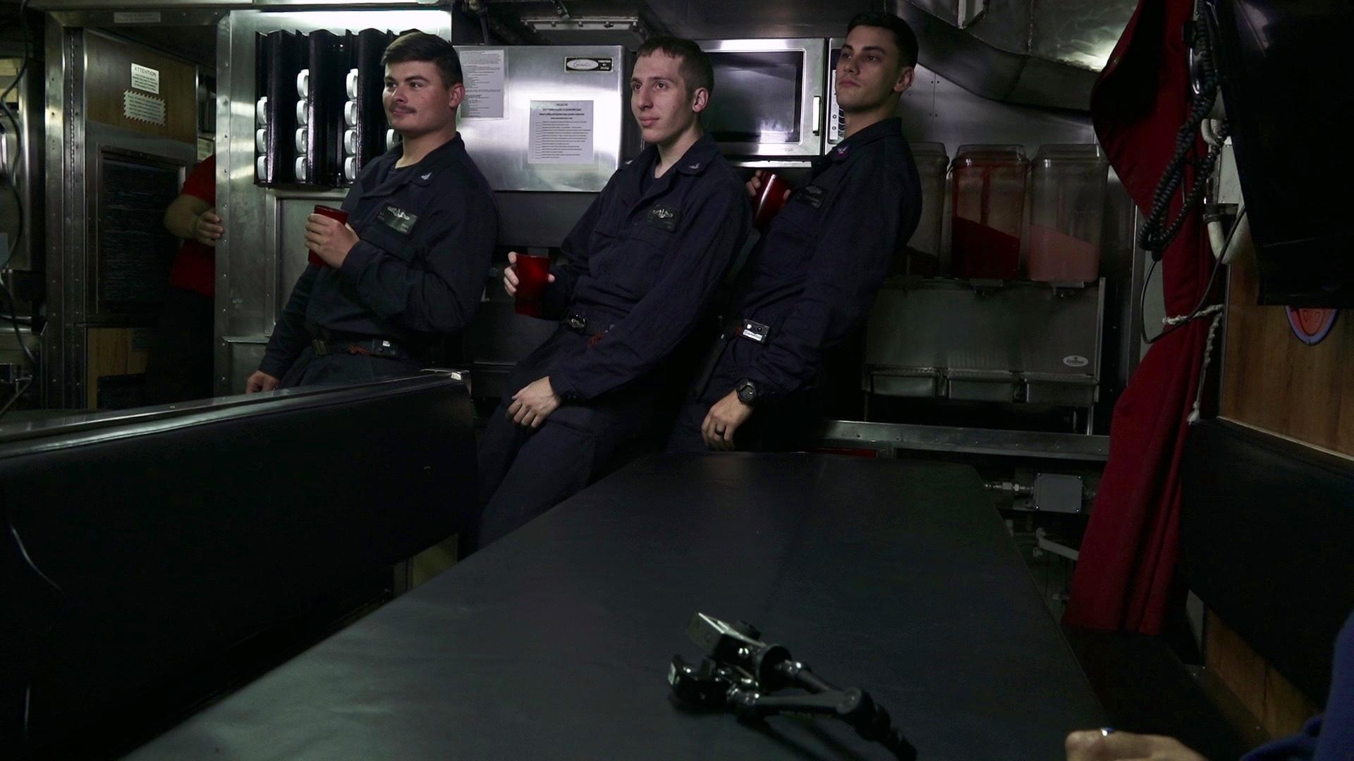 USS Santa Fe Angles and Dangles