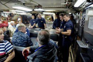 USS Santa Fe welcome