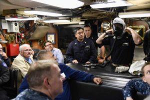 USS Santa Fe Safety
